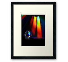 On The Edge Framed Print