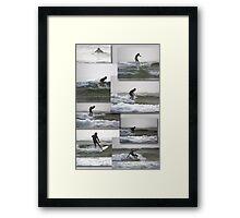 Surfin' Framed Print