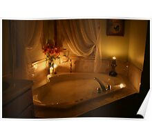Candlelight Bath Poster