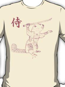 Samurai Beaver T-Shirt