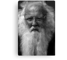 Santa's Bad Cousin Canvas Print