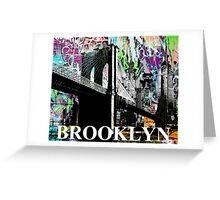 Brooklyn graffiti Greeting Card