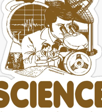 Science Proves Others Are Dumb Sticker