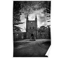 Port Arthur Church Poster