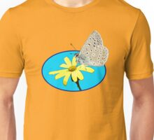 flying on yellow flowers today T-Shirt
