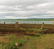 The Ring of Brodgar and The Loch of Harray by WatscapePhoto