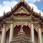 THAI TEMPLE by Rebecca Conroy