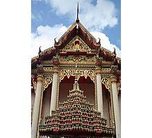 THAI TEMPLE Photographic Print