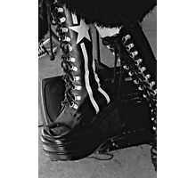 Rock Boots  Photographic Print