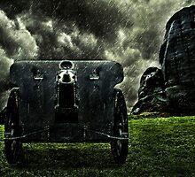 Vintage Cannon Feldhaubitze by stockfineart