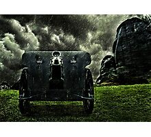 Vintage Cannon Feldhaubitze Photographic Print