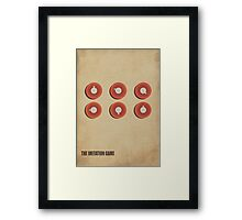 The Imitation Game  Framed Print