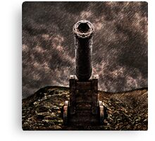 Vintage Cannon Fine Art Print Canvas Print