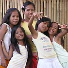 Phillippines girls enjoy attention by Dave P