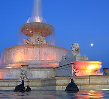 Scott Fountain, Belle Isle, Detroit by iddude313