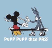 MIC AND BUGS PUFF PUFF PASS T-Shirt