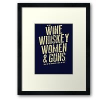 And We'll All Have A Humdinger Framed Print