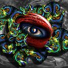 The Glass Around the Red Eye by GolemAura