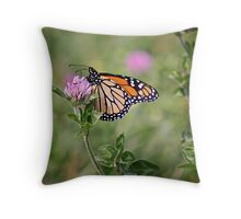 GOLD WING Throw Pillow