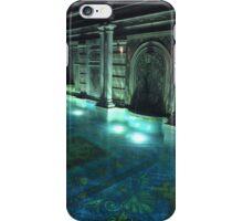 Versace Pool by night iPhone Case/Skin