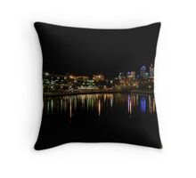 EAST PERTH @ NIGHT Throw Pillow