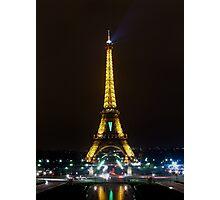 Eiffel Nights Photographic Print