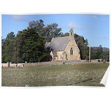 St John the Baptist, Buckland. Tasmania Poster
