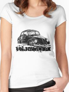 V-DUB  Women's Fitted Scoop T-Shirt