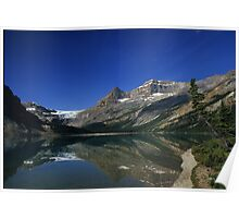 Bow Lake Reflections Poster