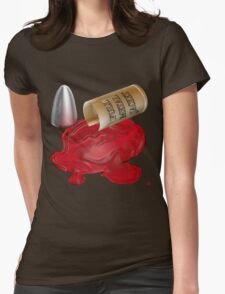 BULLETS Womens Fitted T-Shirt