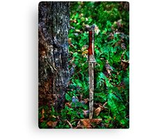 The Bloody Forest Fine Art Print Canvas Print