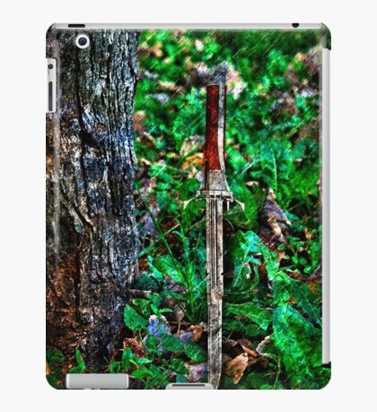 The Bloody Forest Fine Art Print iPad Case/Skin