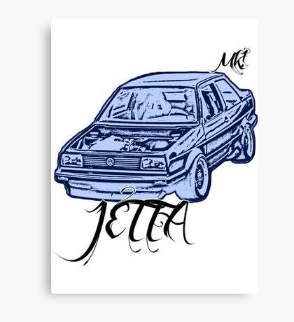 jetta mk1 Canvas Print