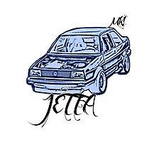 jetta mk1 Photographic Print