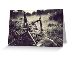 Obstacles do not exist to be surrendered to, but only to be broken.  Greeting Card