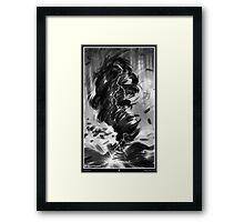 TORNADO. Framed Print