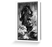 TORNADO. Greeting Card