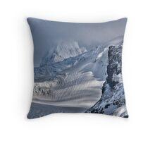 Skaftafellsjokull Mountain Throw Pillow