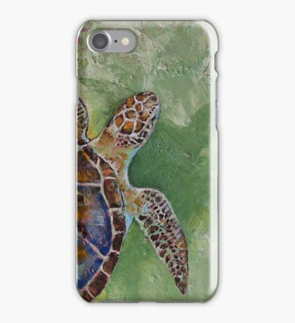 Caribbean Sea Turtle iPhone Case/Skin