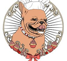 Pastry Cook Bulldog by poisontree