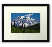Mt. Rainier at Paradise (Washington State) Framed Print