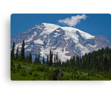 Mt. Rainier at Paradise (Washington State) Canvas Print