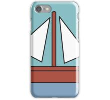 Simpsons Sailboat Painting iPhone Case/Skin