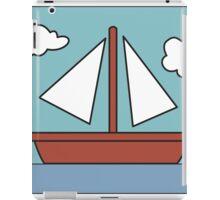 Simpsons Sailboat Painting iPad Case/Skin