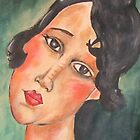 After Modigliani by Leanne Masters