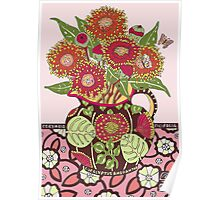 Red Flowering Gum Poster