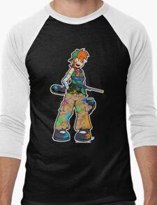Paintball Katie Men's Baseball ¾ T-Shirt