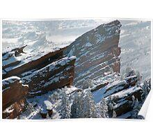 White Rocks Poster