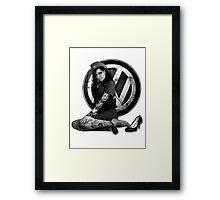VDub Hottie Framed Print