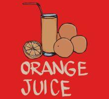Orange juice One Piece - Short Sleeve